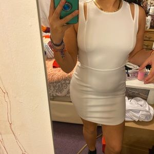 White dress from forever 21